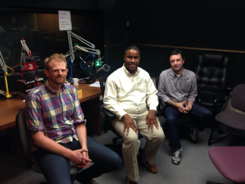 Pictured right to left: Dylan Little, Rep. DaRon McGee, Brian Ellison
