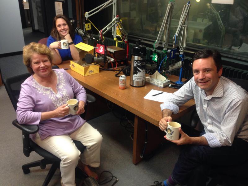 Clockwise around the table: Maria Carter, Brian Ellison, Judy Morgan