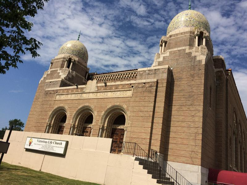 The Moorish-inspired temple at 34th and Paseo has been home to both Jewish and Christian congregations.