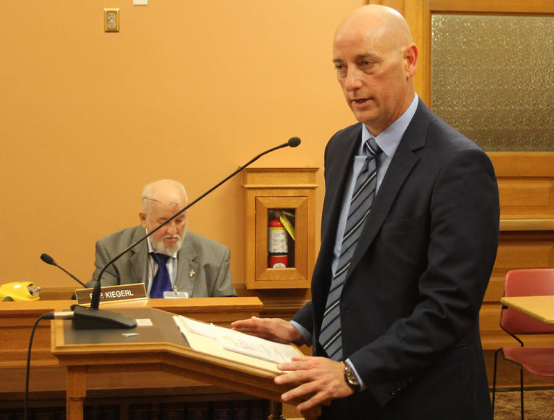 Tim Keck has served as interim secretary of the Kansas Department for Aging and Disability Services since January.