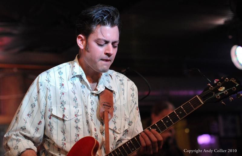 Levee Town's guitarist and vocalist Brandon Hudspeth