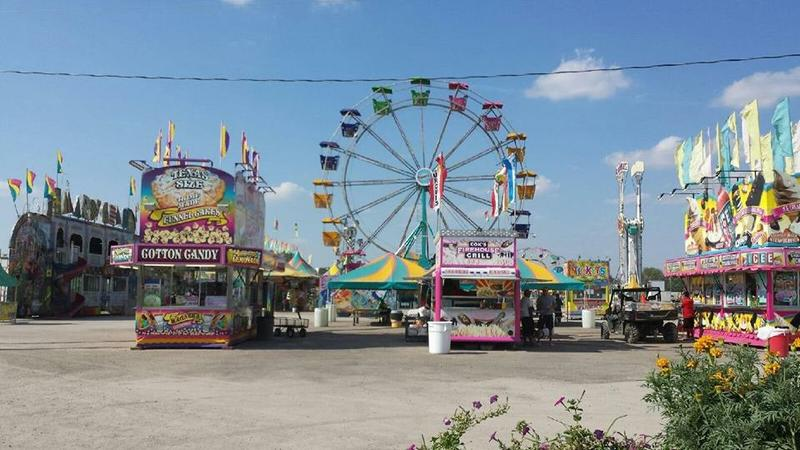 While on assignment in western Kansas, Stefani Fontana went to the county fair to immerse herself in the community.