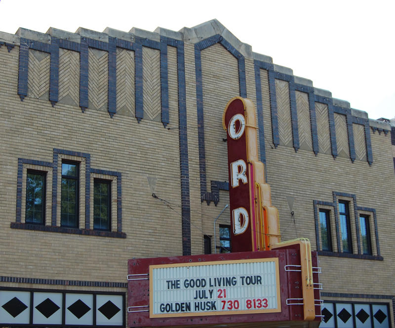 The Golden Husk theater in Ord, Nebraska.