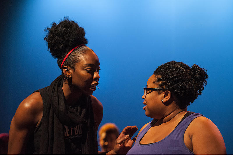 Krystal Camille White (left) and Shon Ruffin in the Kansas City Black Repertory Theatre's 'Dreamgirls In Concert'