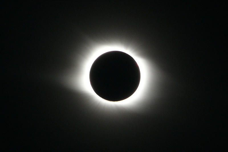 A total solar eclipse, similar to the one pictured from August 1, 2008, will be visible in St. Joseph, Missouri on August 21, 2017.