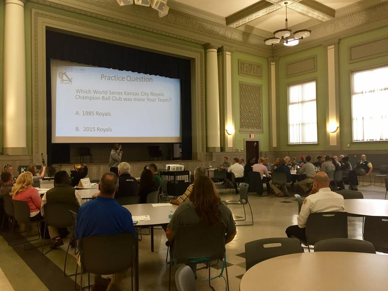 A group of more than 50 people gathered at the Mohart Multipurpose Center on Saturday to tell officials what they think the city should be spending money on over the next five years.