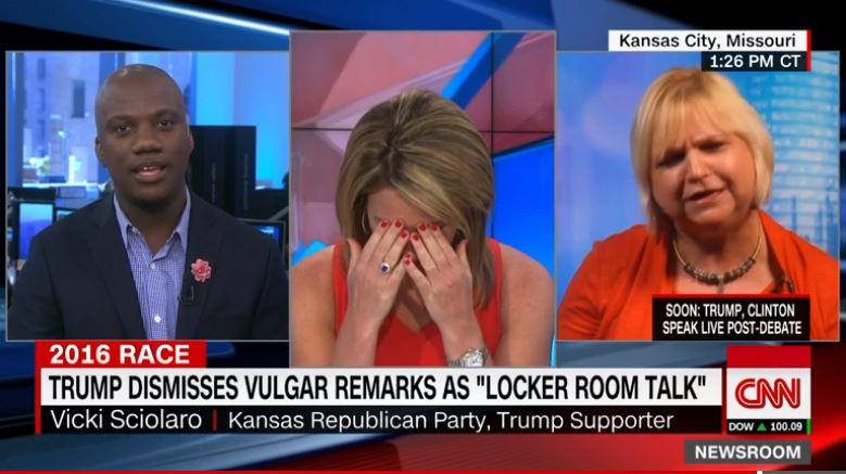 Vicki Sciolaro, chair for the Kansas Republicans in the 3rd Congressional district and a Christian conservative, was once a Ted Cruz supporter. But in a CNN interview, she found herself digging into the Bible to defend Donald Trump.