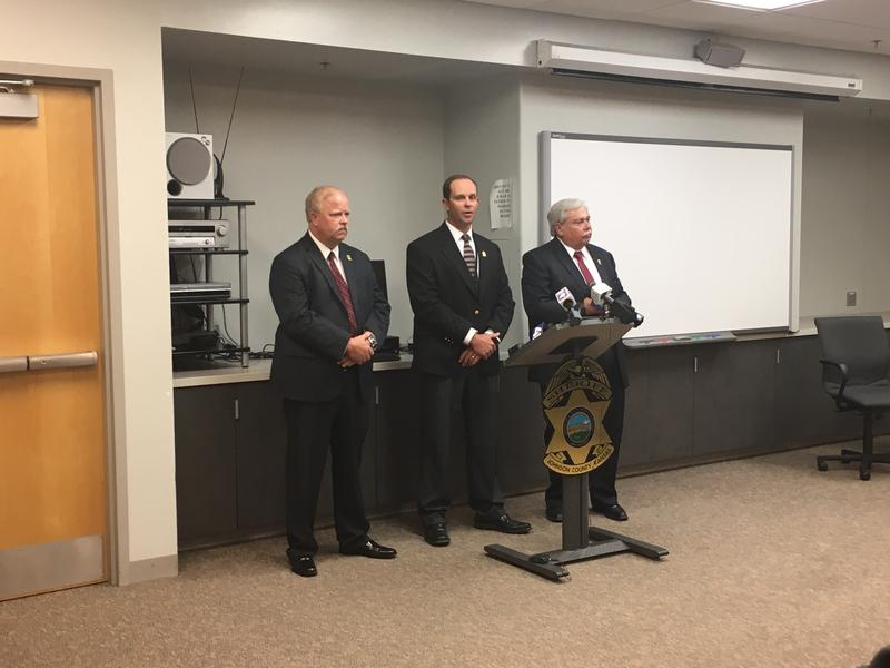 Johnson County law enforcement officials are investigating the sexual assault of a female deputy who was abducted Friday night.