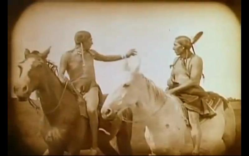 A scene from 'Daughter of the Dawn.'