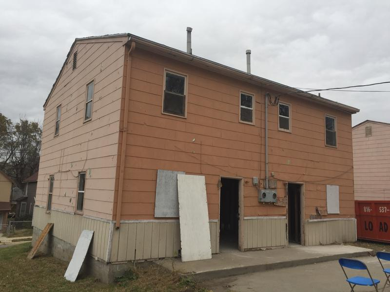 Neighborhoods United wants to turn vacant properties, like this house on the corner of 20th and Walrond, into energy-efficient duplexes for veterans and people with disabilities.