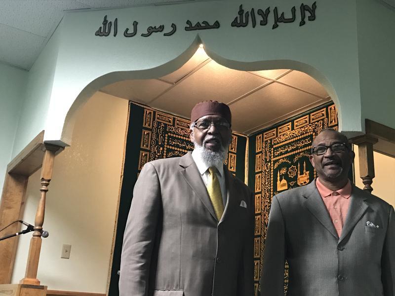 Hanif Khalil and Zarrief Osman of Al-Inshirah Islamic Center in Kansas City, Missouri.
