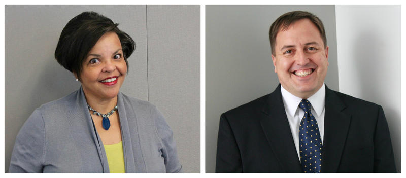The major party candidates for secretary of state are Robin Smith, a Democrat, and Jay Ashcroft, a Republican.