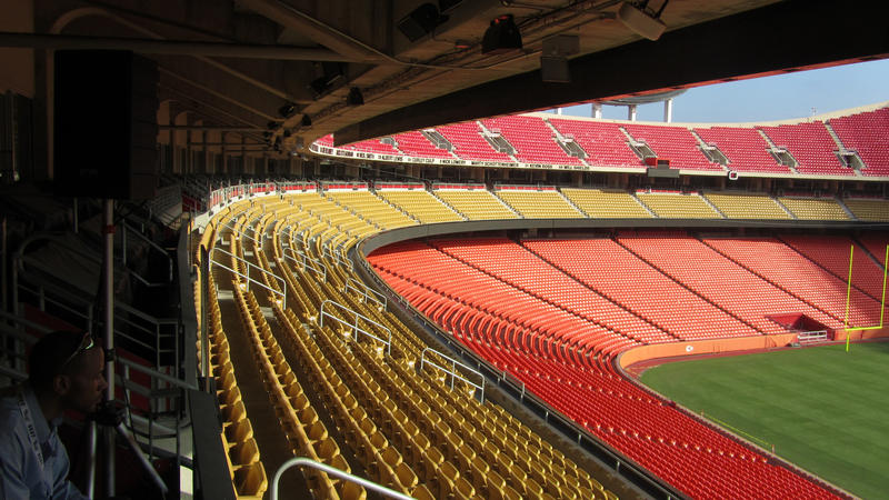 Have you ever been taken behind the scenes at Arrowhead to see the locker room and press box? The stadium's guided tours will take you there, as well as other destinations not typically visited by most fans.