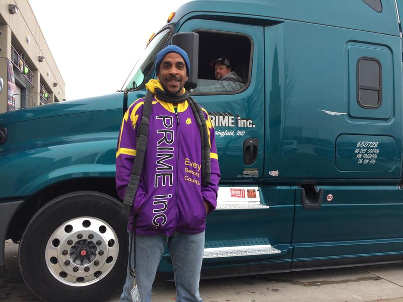 Siphiwe Baleka manages the health of 3,000 drivers for Prime Inc., a trucking company based in Springfield, Missouri.