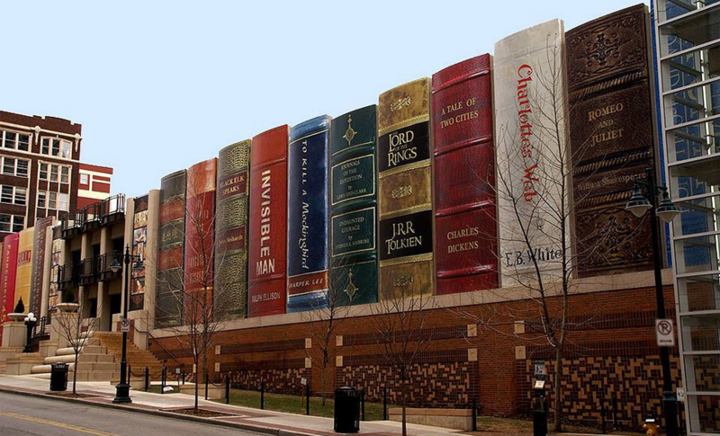 The Kansas City Public Library's Central Library's parking garage.