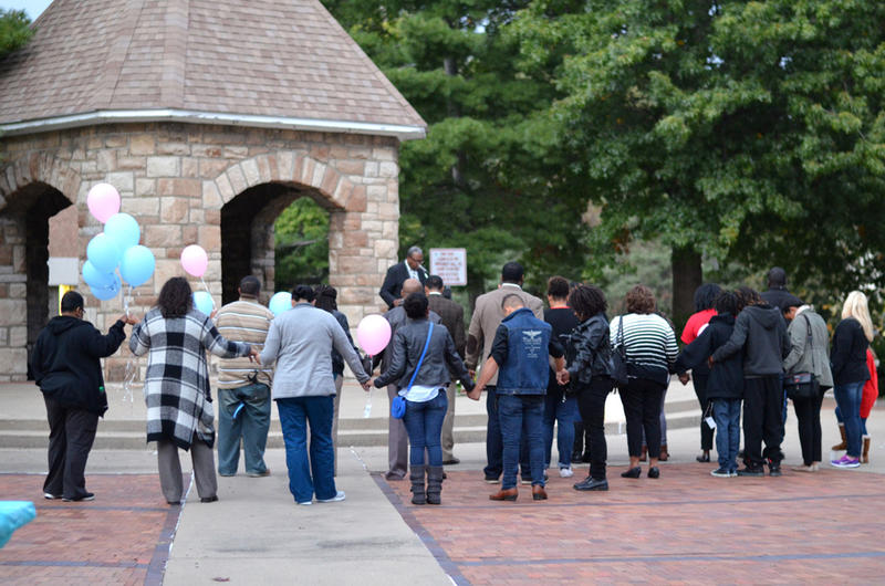 Communities Creating Opportunity organized a vigil for Wyandotte County families that have experienced a miscarriage, stillbirth or infant death.