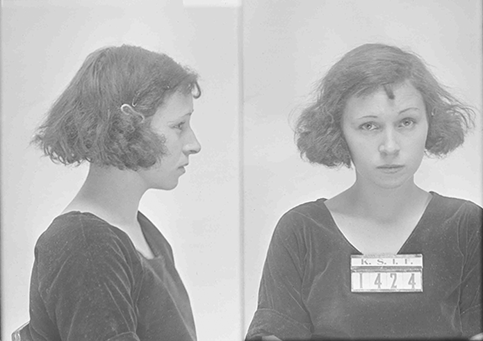 Carrie Cox of Cherokee County was sentenced to the Kansas State Industrial Farms in Lansing on November 21, 1921 for lascivious conduct.