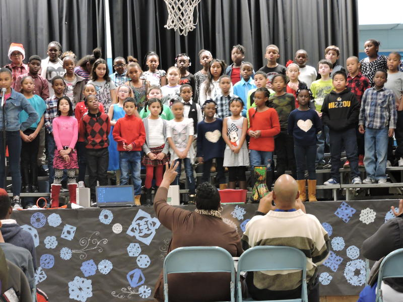 At Ingels Elementary School, 3rd and 4th grade students head into winter break with a holiday concert for family and friends.