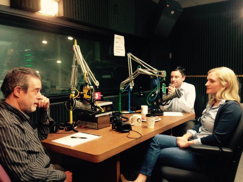 From left to right: Dan Margolies, Brian Ellison, Rep. Lauren Arthur