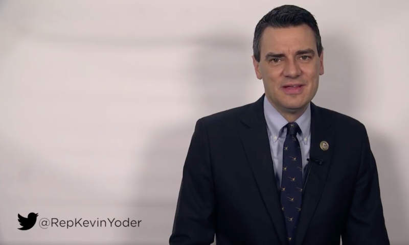 Kansas' Kevin Yoder has yet to publicly endorse the Republican health care plan. He may cast a key vote Thursday.