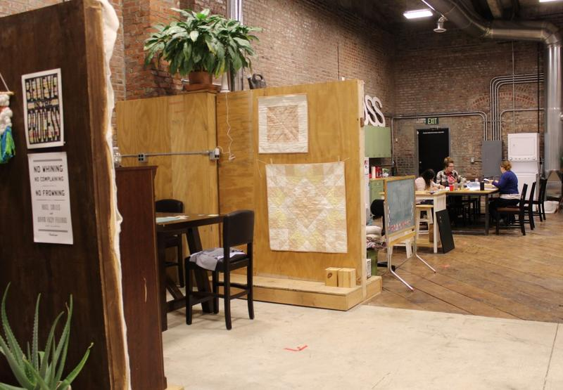 On a Sunday night, artists gathered at Cherry Pit Collective in Kansas City, Missouri, to paint, stitch, and work on taxes.