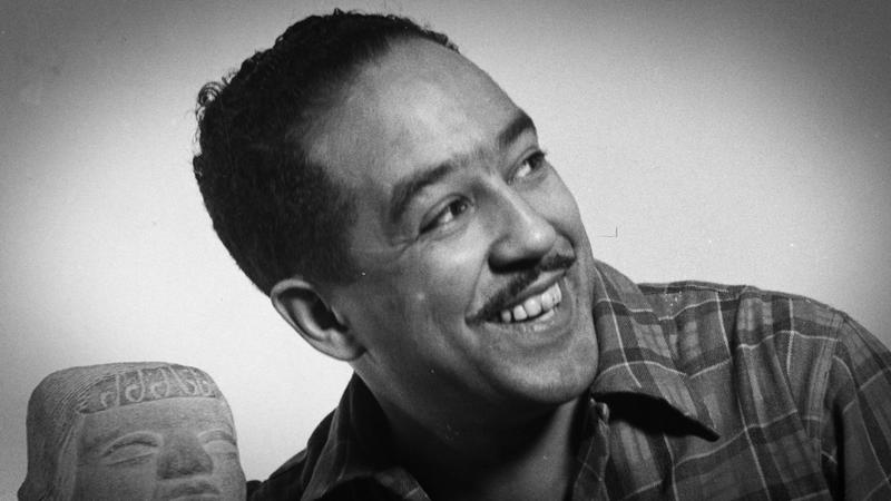 Langston Hughes, as pictured in the new short documentary 'Langston's Lawrence.'
