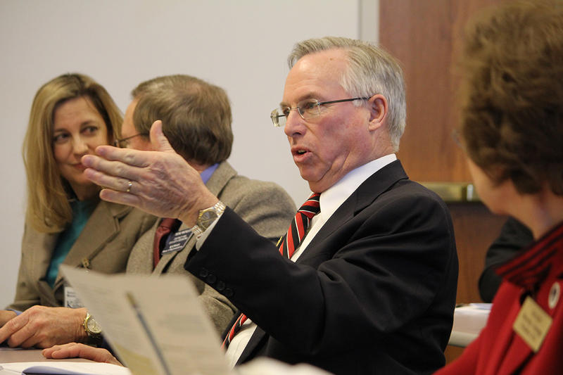 Kansas House Majority Leader Don Hineman, a moderate Republican from Dighton, says Kansas voters sent a message last year that legislators should fix the state budget mess.
