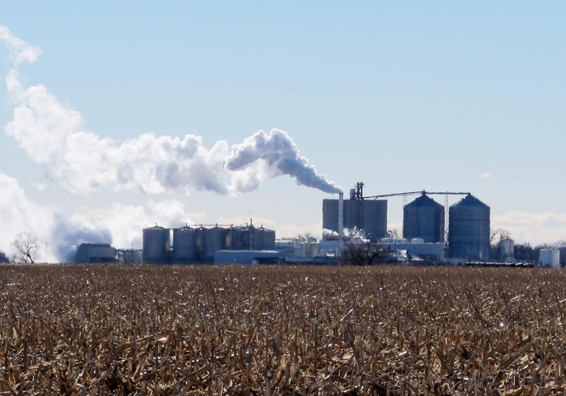 The Green Plains Energy plant near Central City, Nebraska