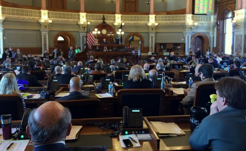 On a 76-48 vote, the Kansas House approved a bill Thursday that would undo many of the state's 2012 tax cuts to help balance the budget.