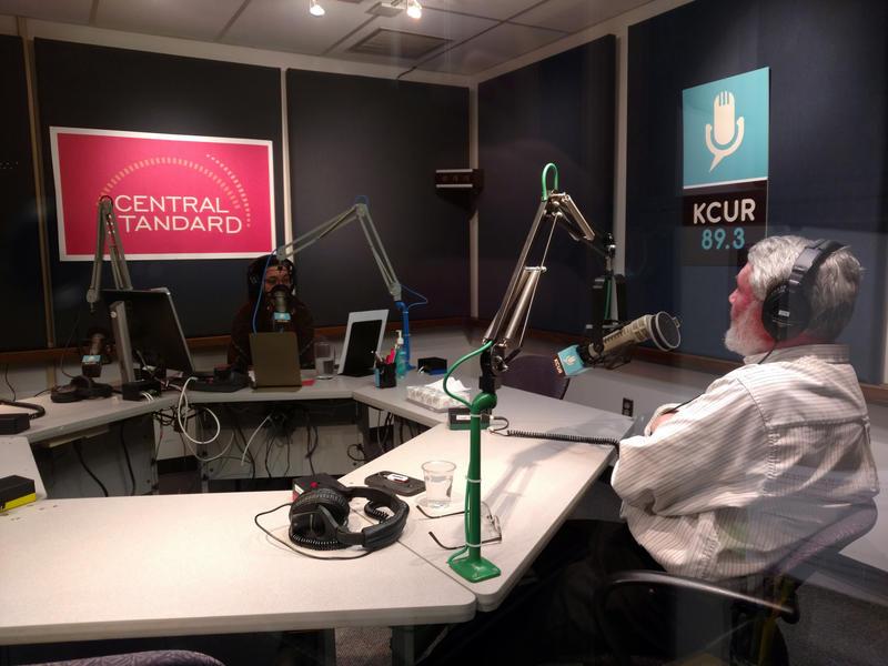Central Standard host Gina Kaufmann interviews a guest on Feb. 13, 2017.