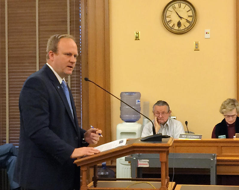 A Kansas House committee recommended a bill that would allow treatment centers to detain Kansans in mental health crisis for up to three days. Mike Burgess of the Disability Rights Center of Kansas spoke Wednesday to the committee.