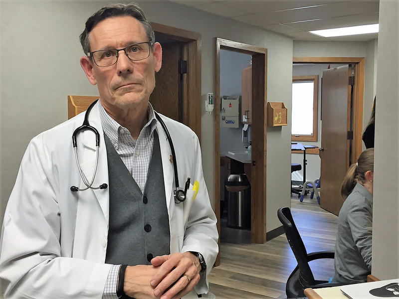 Dennis Cooley, a Topeka pediatrician, says dealing with three KanCare insurance companies, each with its own set of rules, has created administrative burdens for his staff.