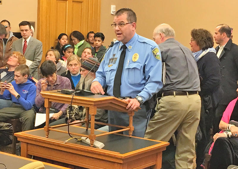Sedgwick County Sheriff Jeff Easter told legislators Wednesday that law enforcement agencies were not consulted before two immigration bills were introduced.