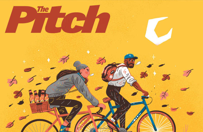 Kansas City's alternative weekly paper, The Pitch, will be published once a month starting in April.