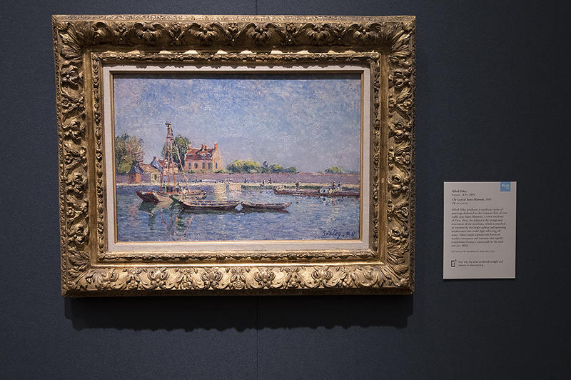 Henry Bloch says that 'The Lock of Saint-Mammes' by Alfred Sisley is one of his favorite paintings in his collection.
