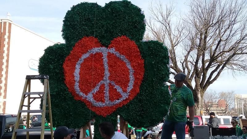 Kansas City's St. Patrick Day Parade.