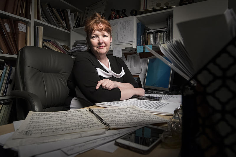 Kansas City Ballet Music Director Ramona Pansegrau spends months working on scores.