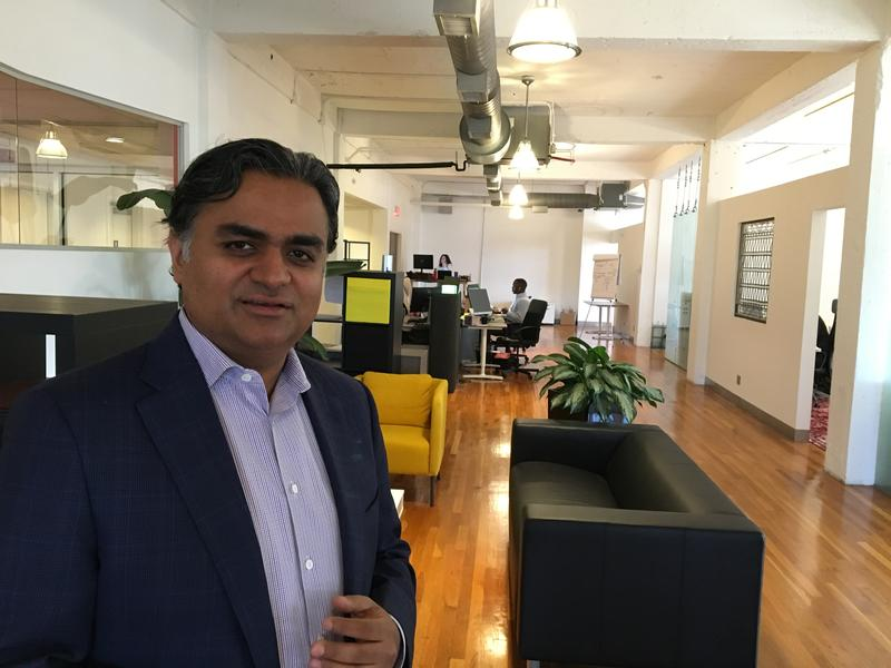 Praful Saklani, founder and CEO of Pramata, says he's been concerned about recruitment since the shooting in Olathe, Kansas, but he doesn't see a pattern of problems. Kansas City, he says, has been welcoming.
