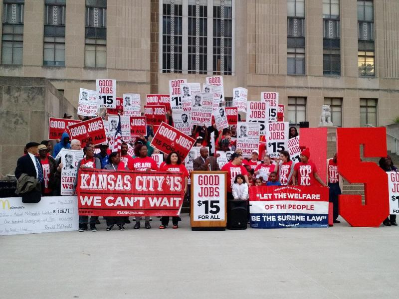 Low-wage workers and activists with Stand Up KC protested for years for a minimum wage hike. The Kansas City Council passed a minimum wage ordinance Thursday amid confusion over what's next statewide.