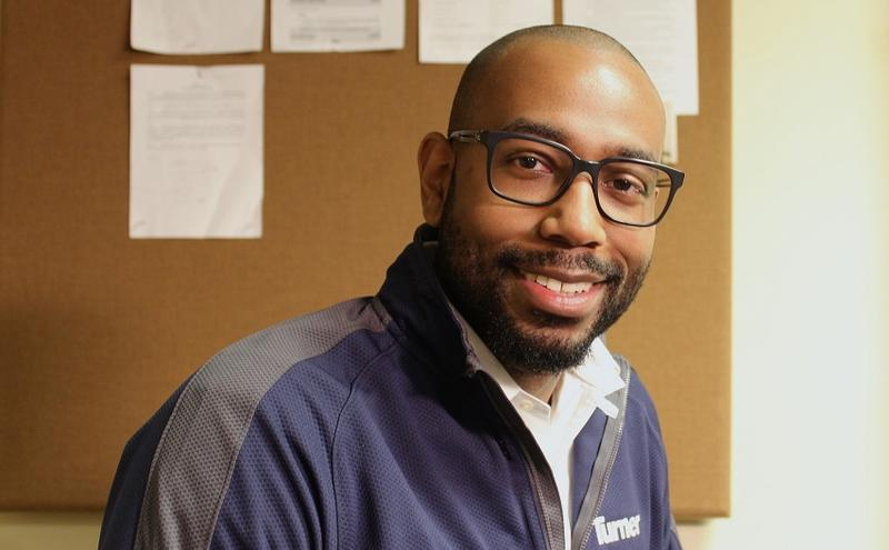 It was a high school drafting class that turned DeJ'on Slaughter onto the possibility of becoming an engineer. He is now the community and citizenship director for Turner Construction Company.