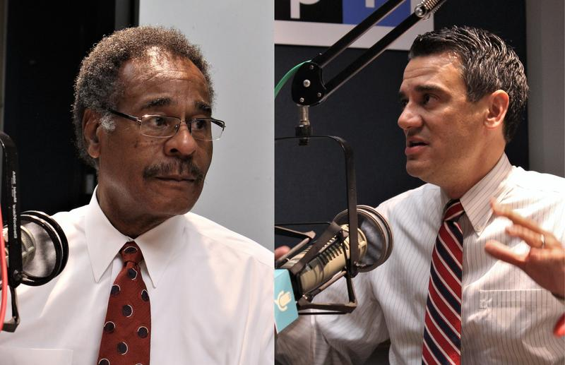 Reps. Emanuel Cleaver, D-Missouri, and Kevin Yoder, R-Kansas, visited KCUR studios on Wednesday. Both support Presudent Trump's decision to launch cruise missiles into Syria, but question his reluctance to release personal tax documents.