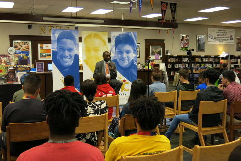KCPS Supt. Mark Bedell is holding town hall meetings so students and teachers can ask him questions.
