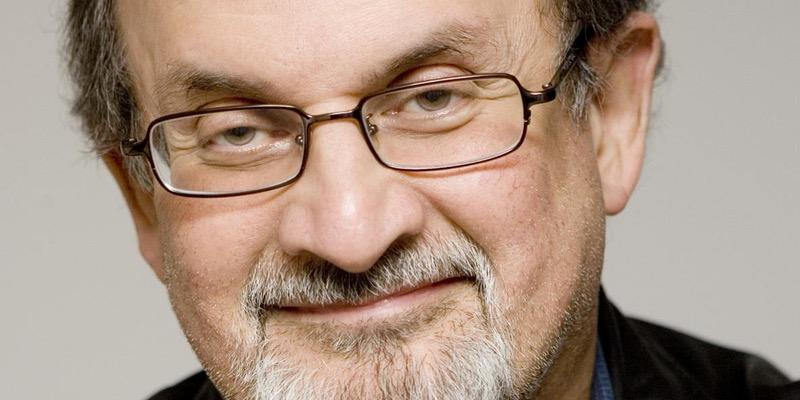 Sir Salman Rushdie is a keynote speaker at the Unbound Book Festival in Columbia, Missouri.