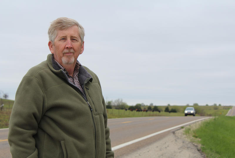 Dennis Wright of Council Grove says Kansas Highway 177 from Council Grove to Manhattan is pretty but dangerous. A section of K-177 was set for an upgrade, but that project was delayed last year after lawmakers swept billions in highway funds.