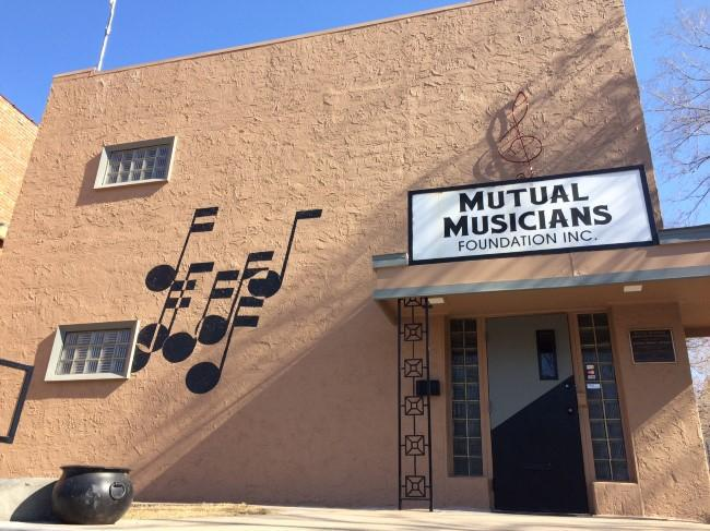 The Mutual Musicians Foundation at 1823 Highland, home of the original Colored Musicians Local 627, is one of two National Historic Landmarks in Kansas City (the other is the Liberty Memorial).