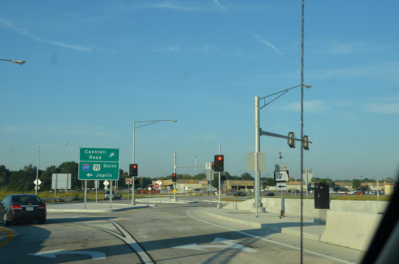 A TDD formed to pay for the new intersection at Interstate 49 and Route 291 and other road projects hasn't generated enough revenue for City of Harrisonville to keep up with the bonds.