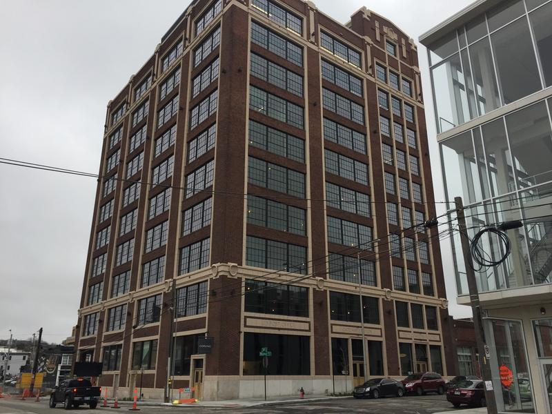 Corrigan Station is the first building renovated into new office space downtown since 1991.
