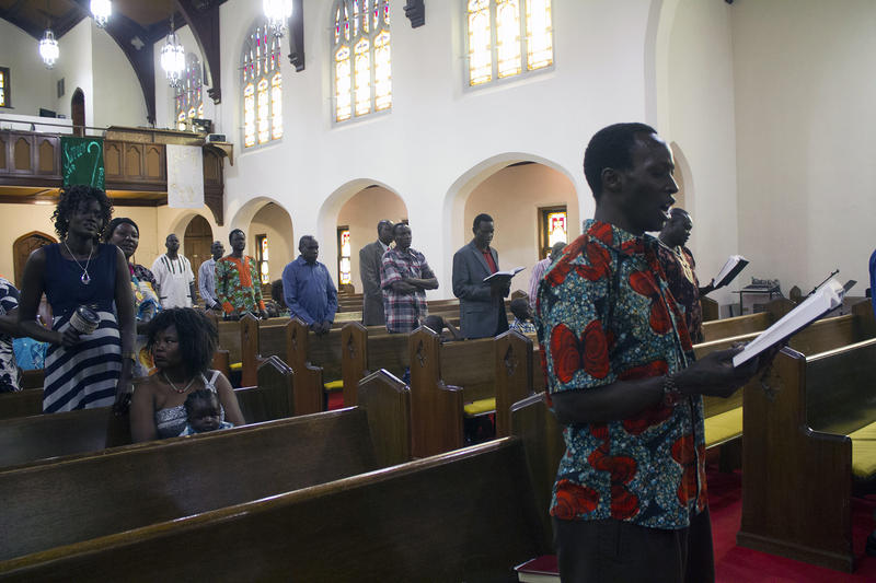 The South Sudanese Community Lutheran Church meets at Zion Lutheran Church in Denison, Iowa, on Sunday afternoons.