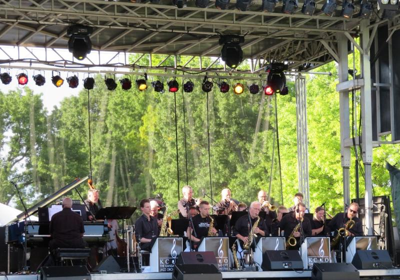 More than 50 local and national acts performed at the Kansas City Jazz and Heritage Festival, including The Kansas City Jazz Orchestra.