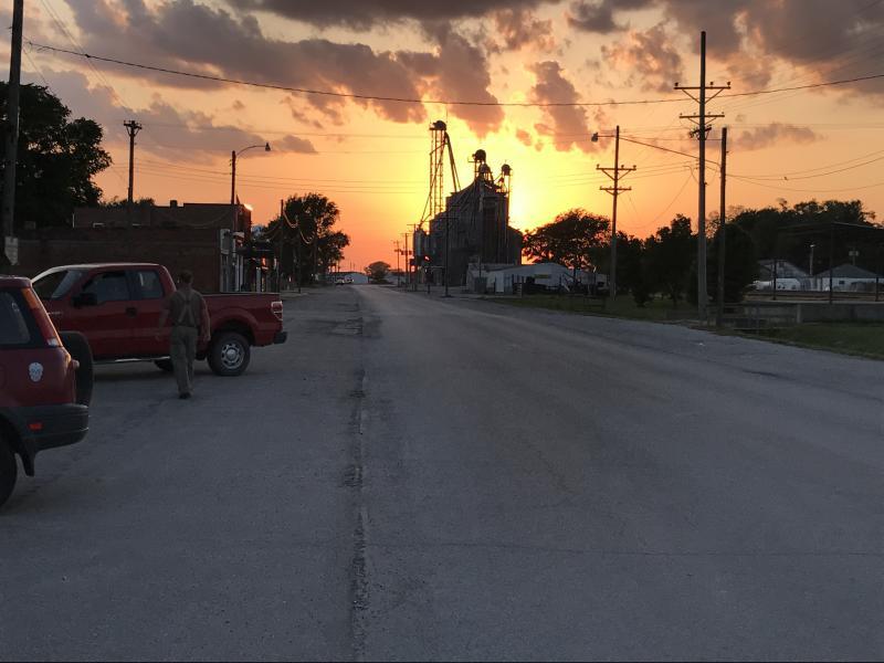 Orrick, Missouri, population 799.
